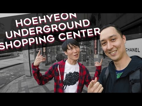 Hoehyeon Underground Shopping Center (회현지하 쇼핑센터) - 🇰🇷 SEOUL WALK