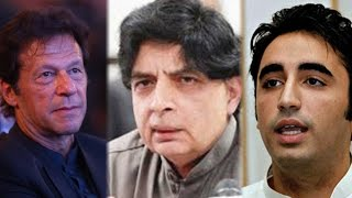 PPP, PTI strong response to Interior Minister Ch.Nisar