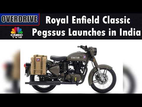 Royal Enfield Classic 'Pegasus' Launches in India | OVERDRIVE | CNBC TV18