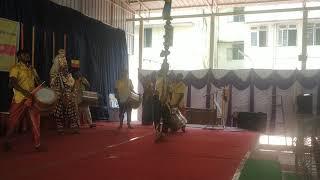 Nandi dwaja in Maharani college 😊😊