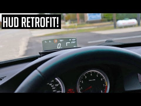 My BMW Should Have Always Had This OEM Heads Up Display!