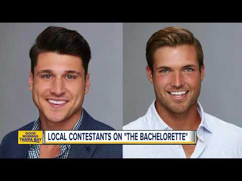 Two men from the Tampa Bay area looking for love on 'The Bachelorette'
