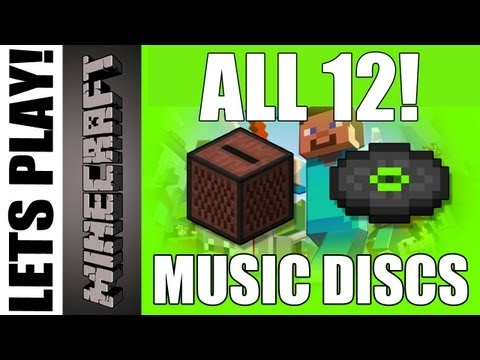 Minecraft - All Music discs for XBOX 360 Version! (1.8.2)
