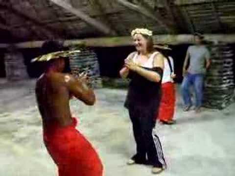 Christmas Island dancing