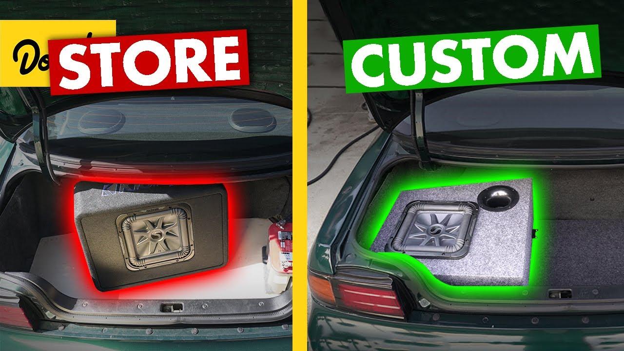 DIY Subwoofer vs. Store-bought