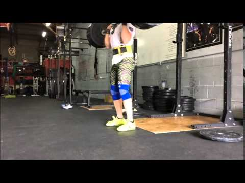 Power Clean + Full Clean, Front Squat