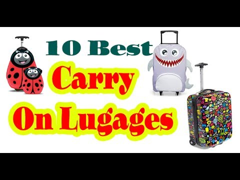Best Carry on Luggage to Buy in 2017