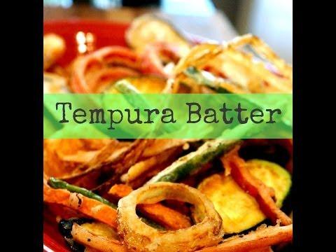How to make Tempura Batter | Ask Momma Cuisine
