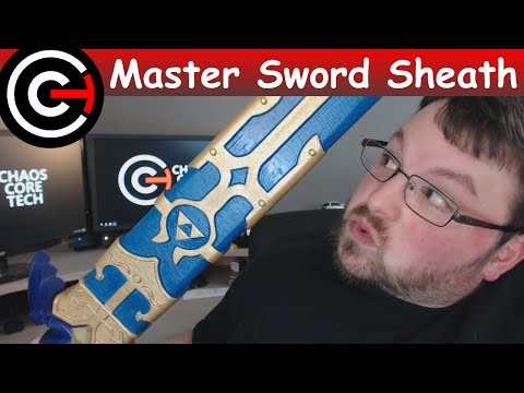 3D Printed Sheath for the Master Sword!