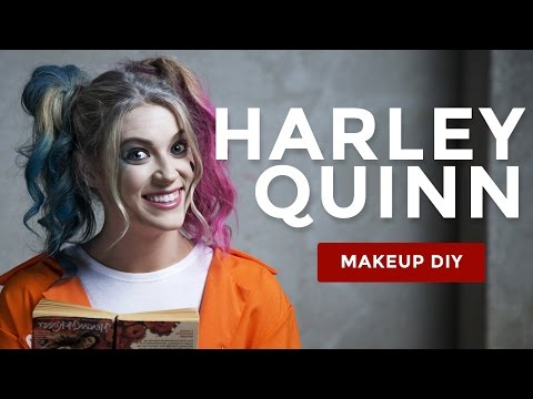 Harley Quinn Suicide Squad Hair and Makeup Tutorial – Prison Jumpsuit Look