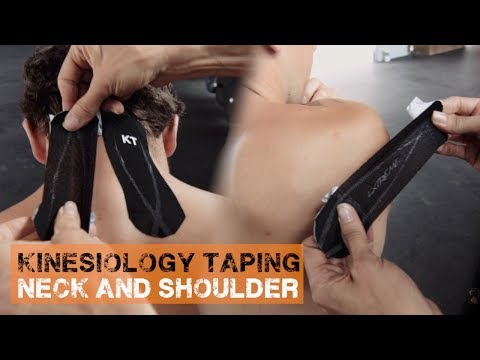 Alleviate Neck and Shoulder Pain - Kinesiology Tape