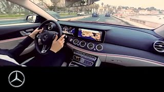 360° video drive in the E-Class around Lisbon - Mercedes-Benz original