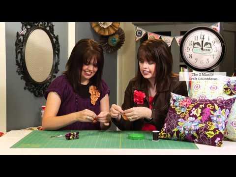 Fabric Yo-Yo's -  How to Make a Fabric Yo-Yo
