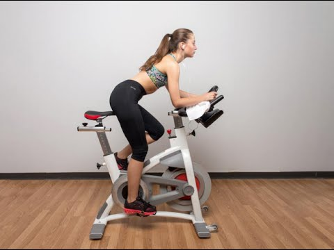 Stationary Bike/Exercise Bike workout - HIIT [high-intensity interval training]