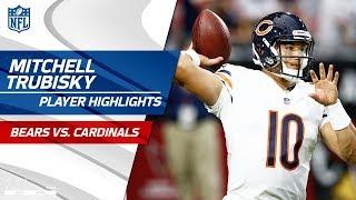 Every Mitchell Trubisky Pass vs. Arizona | Bears vs. Cardinals | Preseason Wk 2 Player Highlights
