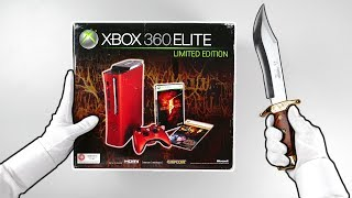 Download Rare XBOX 360 Elite Console Unboxing! (Resident Evil Limited Edition) Resident Evil 2 Remake Video