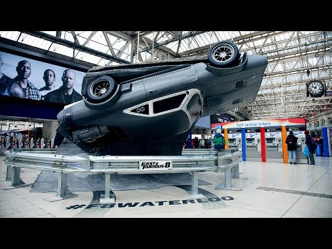 Fast & Furious 8 at London Victoria and London Waterloo Station