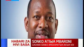 BREAKING NEWS: Governor Mike Sonko arrested in Voi