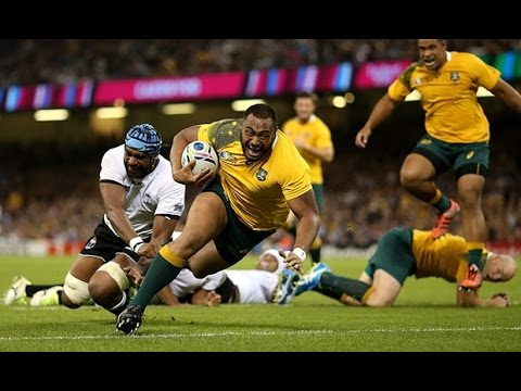 Rugby World Cup 2015 Experience ( Australia vs Fiji)