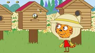Download Три кота | Откуда берется мёд | Серия 133 | Мультфильмы для детей Video