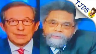 Cornel West Smacks Down Chris Wallace's Loaded B.S. Question On Looting