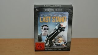 The Last Stand - Limited Uncut Hero Pack (Blu-Ray) Limited Steelbook Lenticular Edition