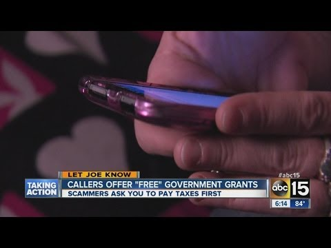 Callers offering 'free' government grant money