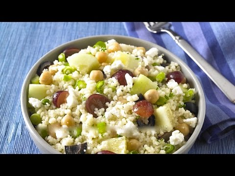 How to Make Mediterranean Couscous Salad