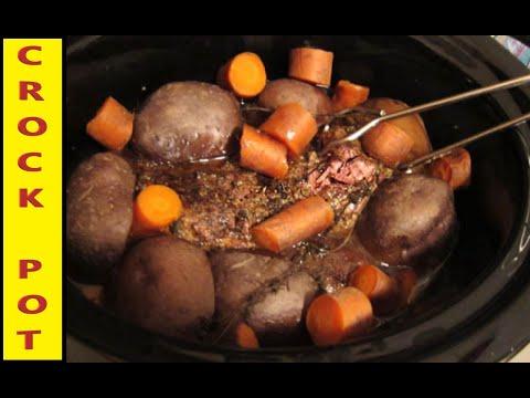 Crock Pot Pot Roast Recipe
