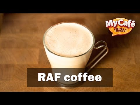 RAF Coffee Recipe from My Cafe and JS Barista Training Center