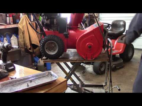 How To Add Electric Start To A Snowblower