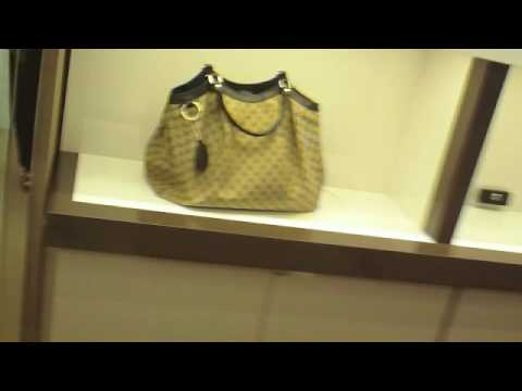 SHOPPING AT GUCCI FOR HANDBAGS (Spycam)
