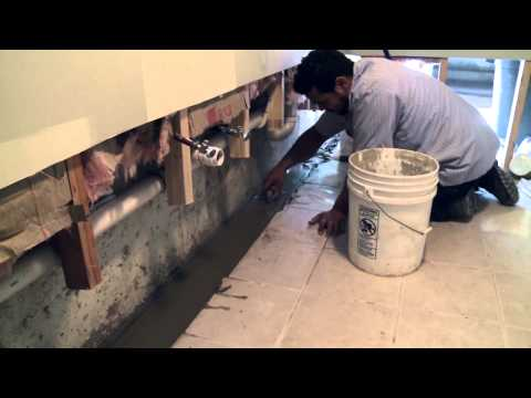 Basement Waterproofing: Exterior French Drain or Internal Drainage System? | Island Basement Systems
