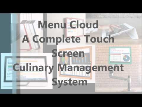 MenuCloud by CBI Revolutionizing the way restaurants do business!