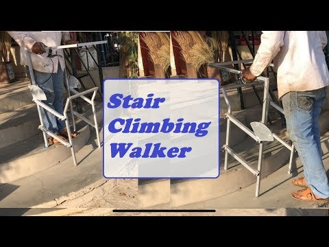 Stair Climbing Walker for old age people and injured people