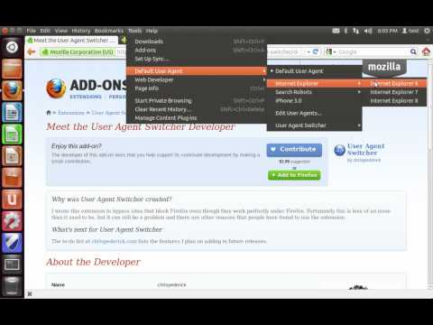 How to Spoof a User Agent String in Firefox