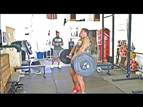 [TRAIN] Spontaneous Power Clean Mess