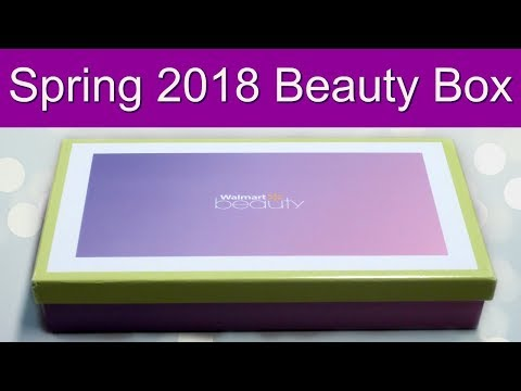 Walmart Beauty Box - Spring 2018 Unboxing!