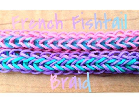 French Fishtail Braid // On the Rainbow Loom