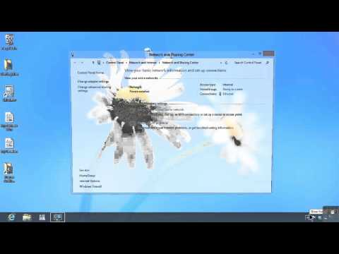 Microsoft Windows 8 Tutorial | Changing A Network Profile