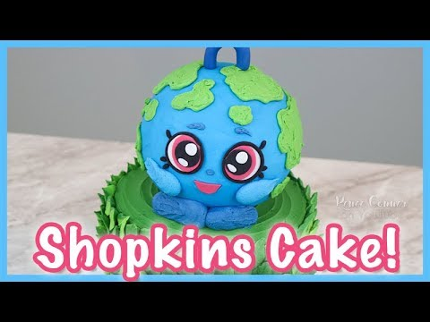 Earth Day Shopkins Cake   Renee Conner
