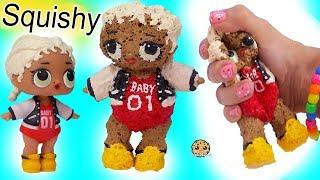 Download LOL Surprise DIY SQUISHY DOLL ! Handmade Do It Yourself Sponge Craft Video