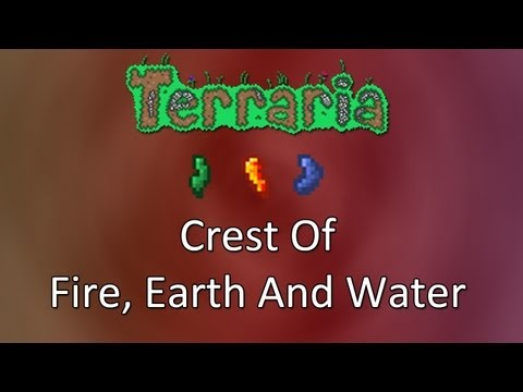Terraria: Reborn Mod — Crest Of Fire, Earth And Water!