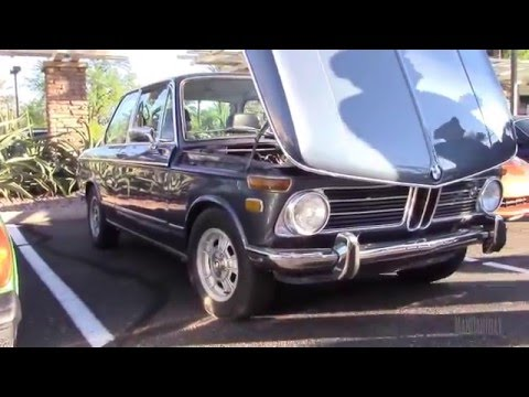 Fully Restored, Round Tail Light, Classic BMW 2002 tii