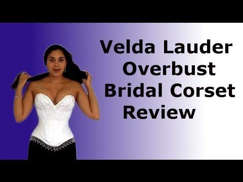 Velda Lauder Bridal Overbust Corset Study | Lucy's Corsetry
