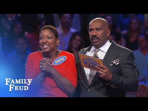 Robyn racks up the points in Fast Money! | Family Feud