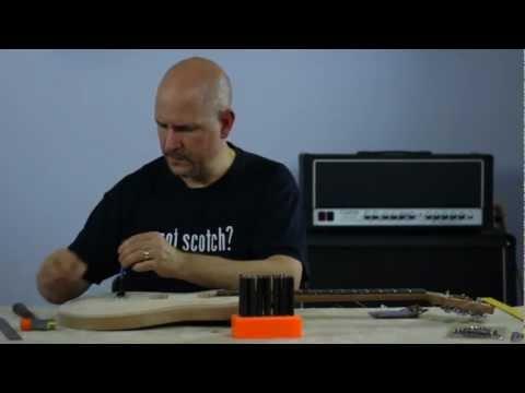 Part 1 - Electric Guitar Kit Bridge Installation