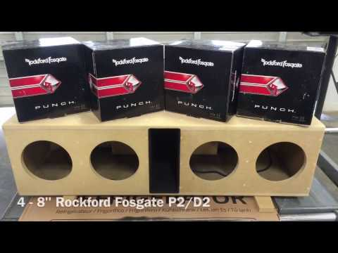 Ported box build for 4-8