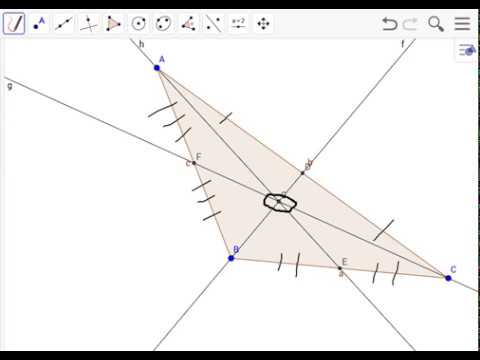 Finding/Making a Centroid for an Obtuse Triangle