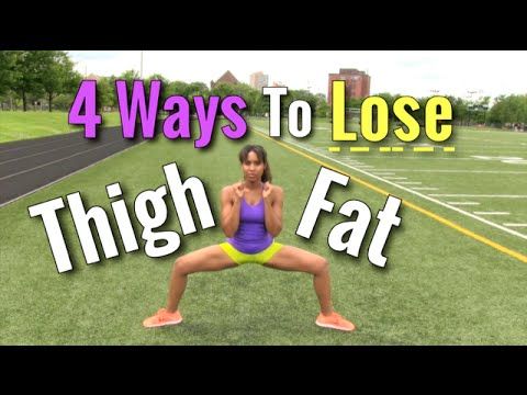 How to Lose Inner Thigh Fat Quick and Simple (4 Awesome Ways!)